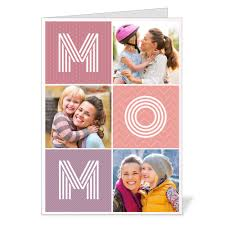 big letters folded 5x7 mother u0027s day card