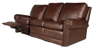virginia reclining leather sofa leather creations furniture