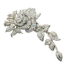 hair brooch wedding hair brooches floral hair brooch bridal