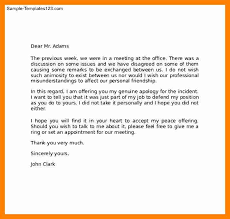 professional apology letter example customer apology letter