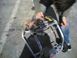 cockroach controlled mobile robot garnet hertz