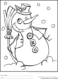 fresh decoration frosty snowman coloring pages draw 6532
