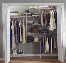 Lowes Metal Shelving Decor White Metal Wire Lowes Closet Organizer For Home Decoration