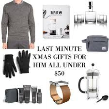 last minute christmas gifts for him all under 50 the scarlett