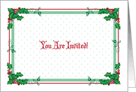 christmas lunch invitation christmas lunch invitations from greeting card universe
