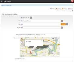 Google Map Canada by How To Add A Google Map To Your Website Emyspot