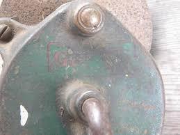 Sharpening Wheel For Bench Grinder Old Hand Crank Farm Work Bench Grinding Wheel For Old Sharpening Tools
