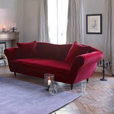 redoute canape canapé velours lipstick la redoute interieurs la redoute space