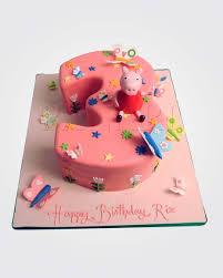 peppa pig cake peppa pig cake pe1587 panari cakes
