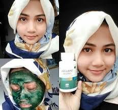 Jual Masker Wajah Untuk Kulit Berminyak jual maker spirulina masker wajah untuk kulit berminyak bekasi