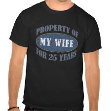 25 year anniversary gift ideas 25th anniversary tshirts celebrate 25 years of marriage with