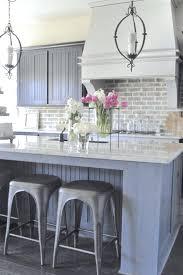 faux brick kitchen backsplash brick kitchen backsplash kitchen with white exposed brick view