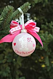 Baby S First Christmas Bauble Etsy by Baby U0027s First Christmas Ornament Baby Ornament Personalized