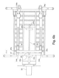 patent us6651775 low level scaffold with ballscrew drive