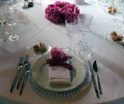 posizione bicchieri in tavola alba catering luxury banqueting la mise en place sistemazione
