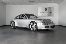 porsche carrera 2007 2007 porsche 911 carrera 4s for sale in colorado springs co c131