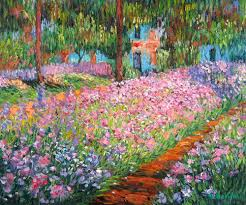 floral art exhibition wallpapers monet paintings images oil paintings art gallery paintings by