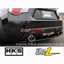 lexus hks hi power exhaust exhaust hi power spec l 86 brz cat back carbon tip hks car toys