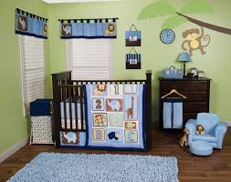 Crib Bedding Jungle Lab Jungle 123 3pc Crib Bedding Set