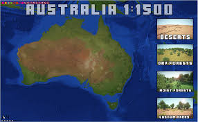 Goo Map Australia 1 1500 Scale In Minecraft 5 1k Downloads Maps