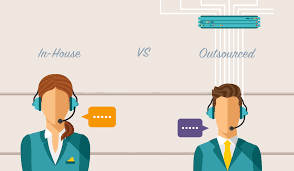 guide to comparing in house vs outsourced contact center costs