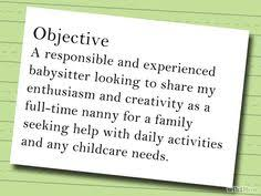 Nanny Job Description On Resume by Babysitter Resume Sample Resume Examples Pinterest Resume