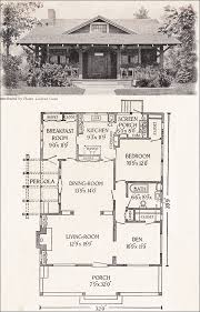 Small House Plans 700 Sq Ft 1916 California Bungalow 1200 Sq Ft Helen Lukens Gaut Old