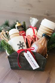 gift baskets for clients the hot cocoa gift basket the tomkat studio