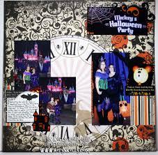 halloween background scrapbook paper aeryn u0027s creative explosion disneyland halloween 2011