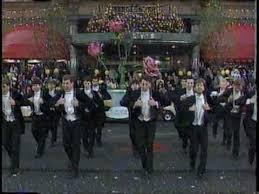 penn glee club in 1990 macy s thanksgiving parade