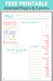start a prayer journal for more meaningful prayers free printables