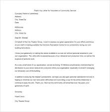 thank you letter for your service u2013 9 free sample example format