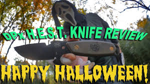a halloween special knife review the original dpx hest fixed