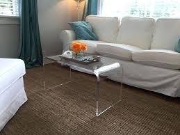 lucite waterfall coffee table acrylic coffee tables clear coffee table lucite coffee table base