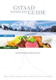 gstaad saanenland guide winter 2016 17 by mdruck mdruck issuu