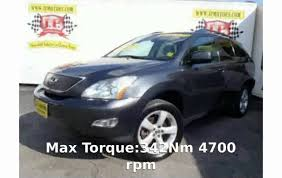 lexus rx 350 for sale miami 2007 lexus rx 350 xe 4x4 specs u0026 details youtube