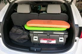 cargo space in hyundai santa fe 2014 hyundai santa fe our review cars com