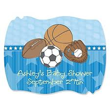 all baby shower all sports baby shower decorations theme babyshowerstuff