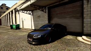 slammed audi a6 stanced audi a6 car feature ep 1 gta5 youtube