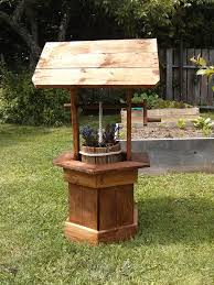 backyard ideas with wood pallets wishing well out of pallet wood