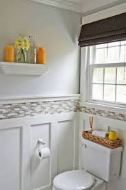 Wainscoting Bathroom Ideas by Bathroom Oak Wainscoting Bathroom With Wainscoting
