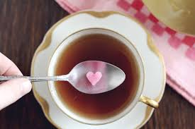how to make pink heart sugar cubes with homemade natural food