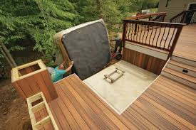 deck building designs and plans ideas homes zone