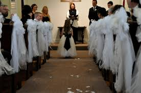 pew bows for wedding handmade tulle pew bows the simply chic
