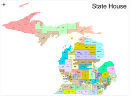 Southeast States And Capitals Map by Redistricting In Michigan New Political Maps From The Michigan