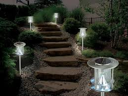 Solar Path Light Modern Solar Light Eco Friendly Design Gem