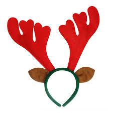 reindeer antlers headband 5 x reindeer antlers ears headband planet of accessories