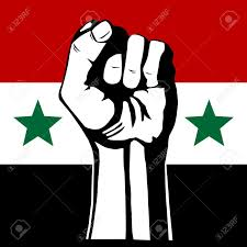 Rebel Syrian Flag The Syrian Flag Revolution Royalty Free Cliparts Vectors And