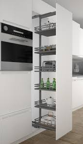Larder by Sige Infinity Plus Pull Out Larder With Orion Grey Baskets New