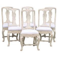 rococo chairs 65 for sale at 1stdibs set of six swedish rococo style dining chairs circa 1880